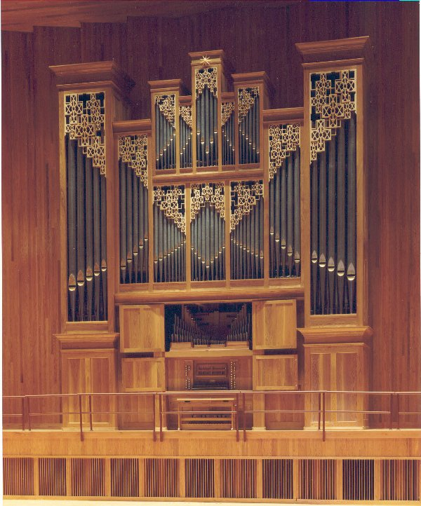 Bedient Pipe Organ, Op. 30 (1991) in LeFrak Concert Hall, Queens College - Flushing, NY