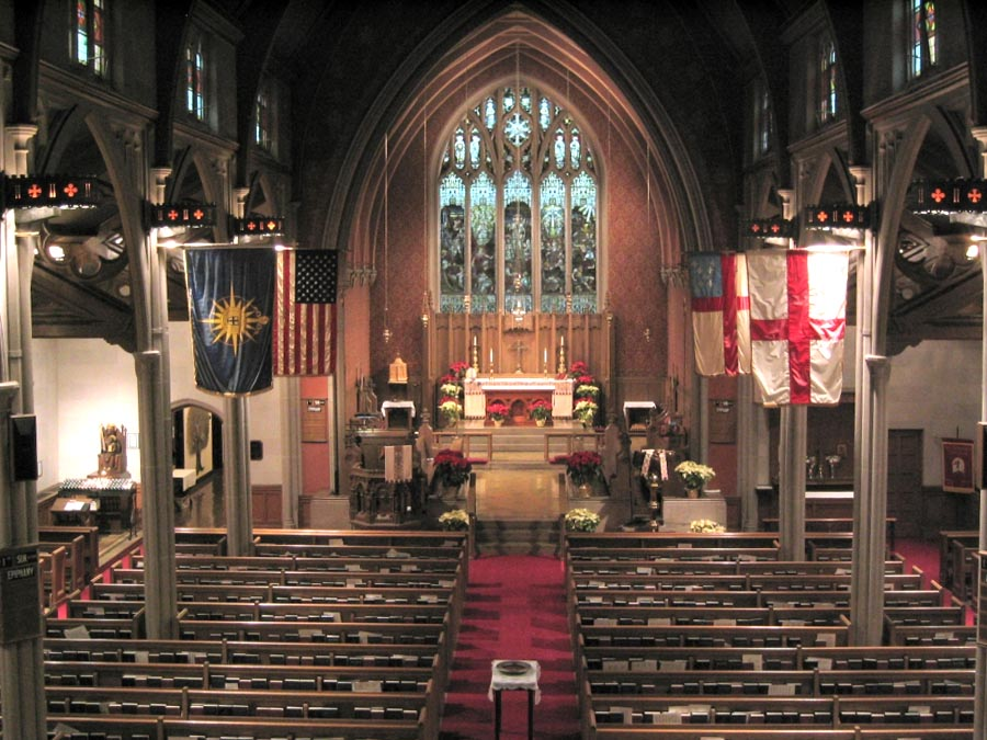 St. George's Episcopal Church - Flushing (Queens), New York (photo: Steven E. Lawson)