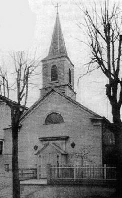 1860 building of St. Margaret's Catholic Church - Middle Village (Queens), N.Y. (photo: Juniper Berry)