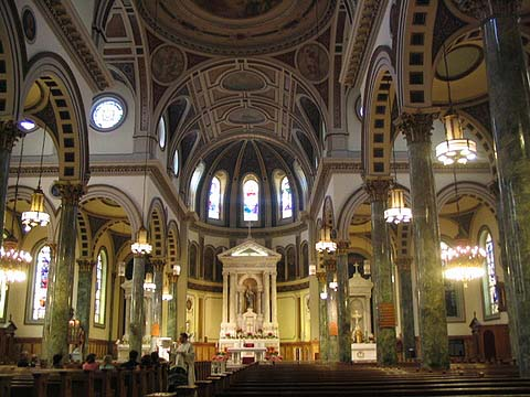 St. Matthias Catholic Church - Ridgewood (Queens), N.Y. (photo: Forgotten New York)