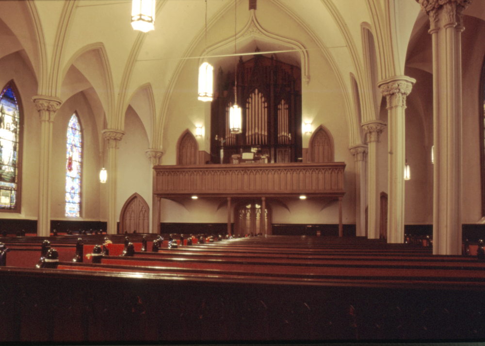 Skinner Organ, Op. 643 (1927) in Brighton Heights Reformed Church - Staten Island, NY (photo: Roland Ratmeyer)