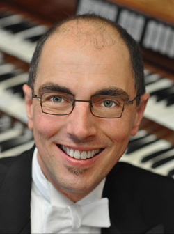 David Higgs, Concert Organist (photo: Stephen Kennedy)